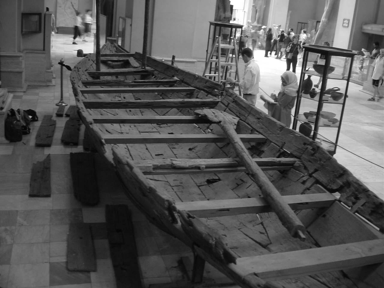 Cairo Dahshur Boat GC 4925