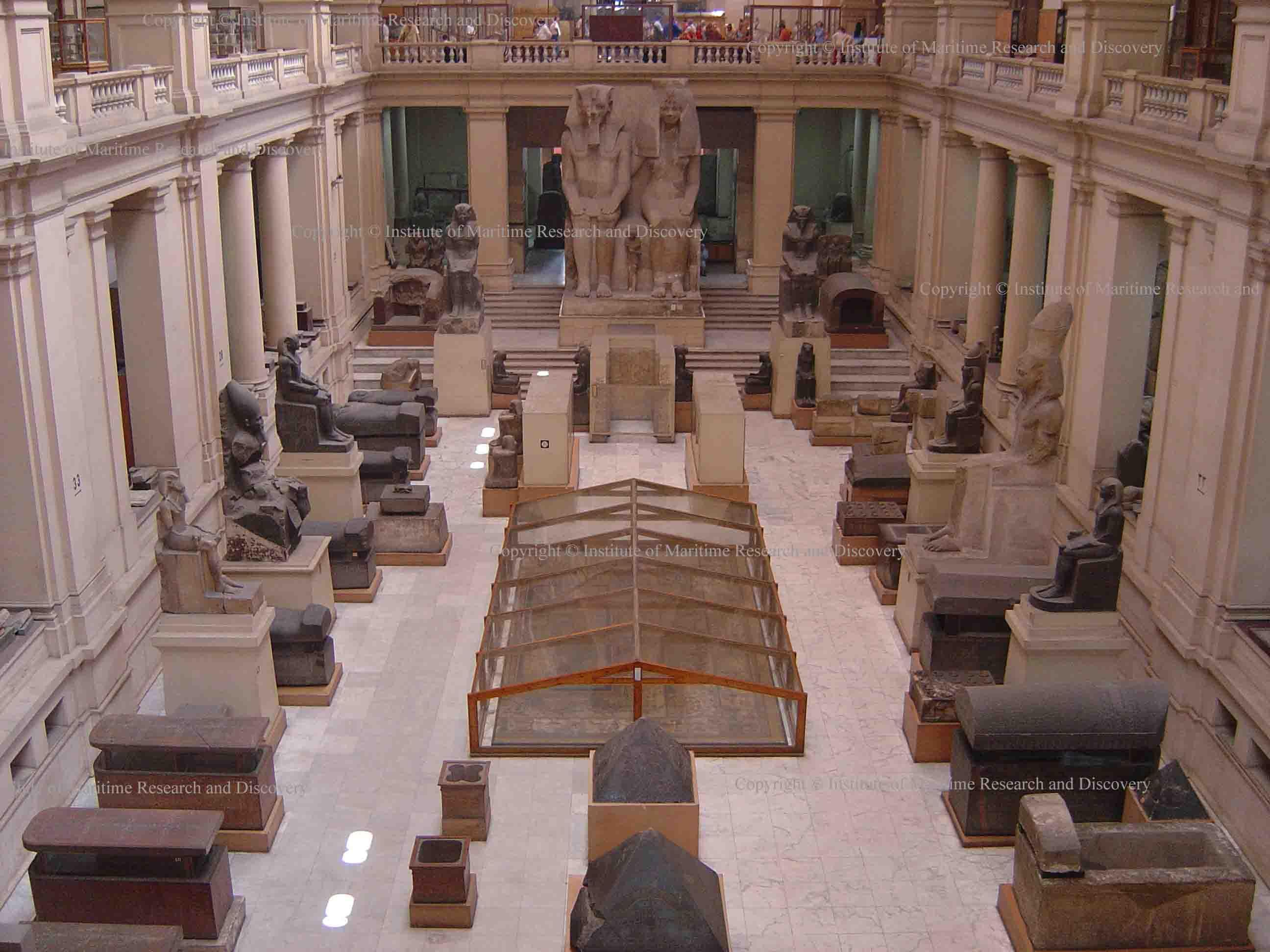 Main Hall, Egyptian Museum