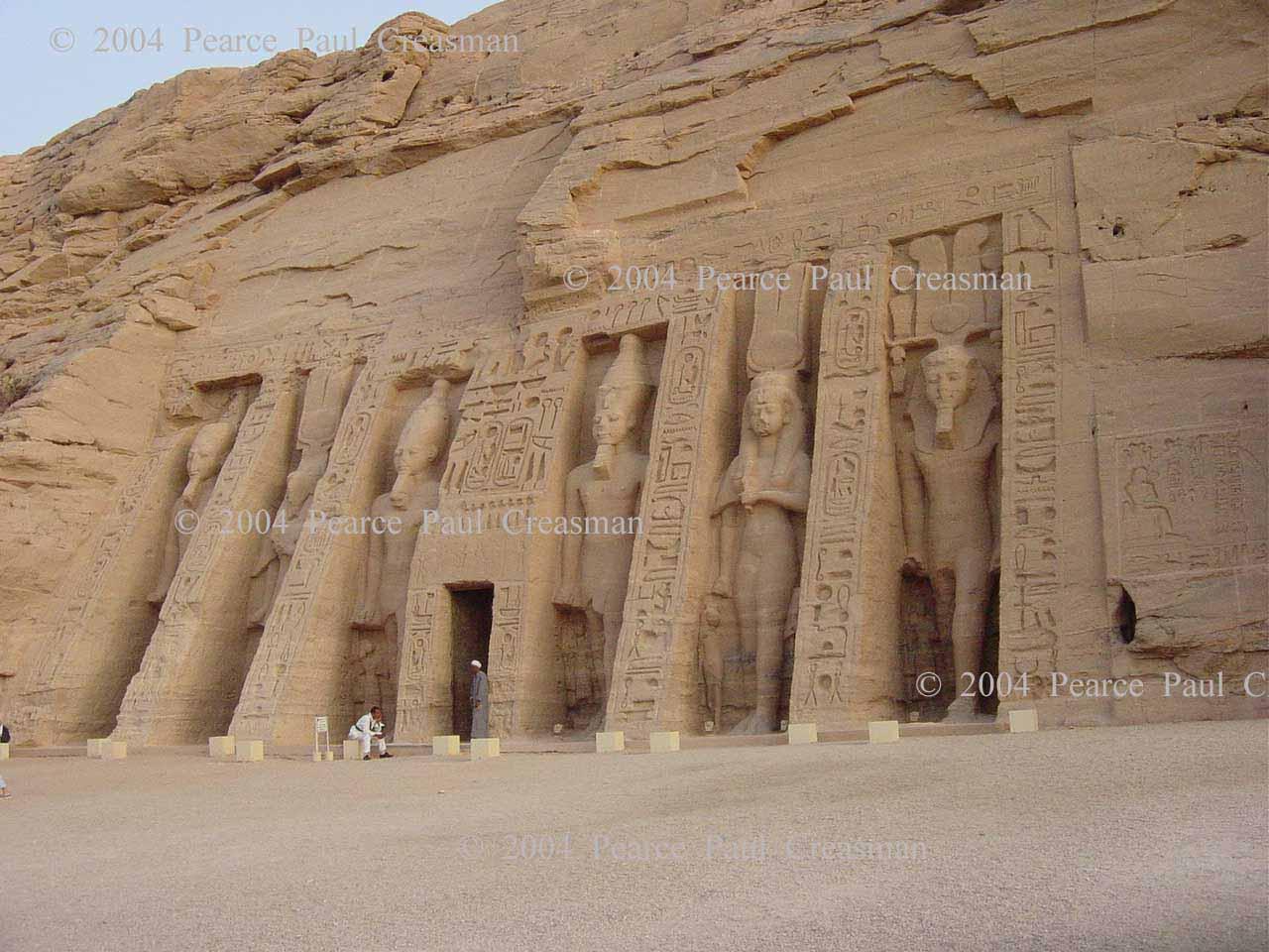 Temple of Nefertari at Abu Simbel