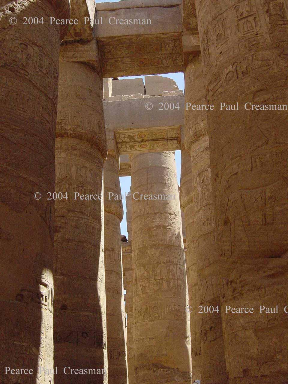 Hall of Giant Columns at Karnak