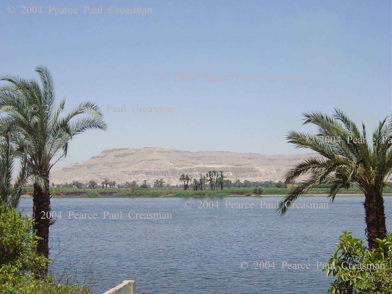 A View of Thebes from Luxor